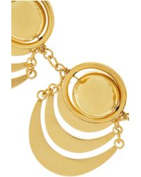 Lele Sadoughi - Metallic Orbit Gold-Plated Necklace - Lyst