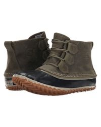 Sorel - Green Out 'n About™ Leather - Lyst