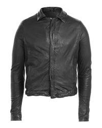 Giorgio Brato | Leather Jacket - Black for Men | Lyst