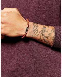 Ted Baker | Brown Plaited Leather Bracelet for Men | Lyst