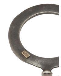 Rosa Maria - Gray Flat Band Ring - Lyst