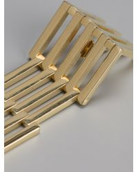 Uncommon Matters - Metallic Articulate Earrings - Lyst