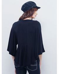 Free People | Black Womens Dusk Meets Dawn Top | Lyst
