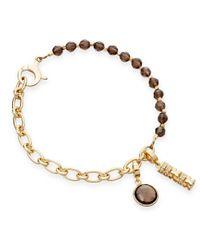 Astley Clarke   Metallic Smoky Quartz Charm Bracelet   Lyst