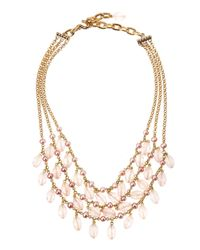 Stephen Dweck | Rose Quartz & Pink Pearl Tiered Necklace | Lyst
