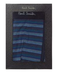Paul Smith   Blue Fine Stripe Trunk for Men   Lyst