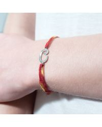 Tada & Toy - Multicolor Indian Wish Bracelet Rose Gold - Lyst