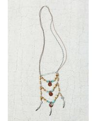 Urban Outfitters | Blue Summer Daze Statement Necklace | Lyst