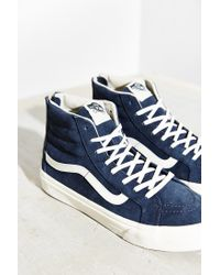 Vans - Blue Sk8-hi Scotchgard Slim Sneaker - Lyst