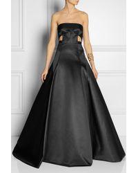 Jason Wu | Black Duchesse satin Gown | Lyst