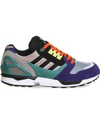 Adidas | Multicolor Zx8000 Suede Trainers for Men | Lyst