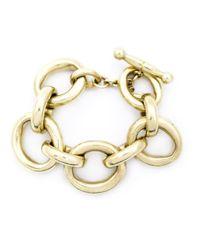 Vaubel | Metallic Large Linked Oval Chain Bracelet | Lyst