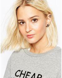 Cheap Monday | Metallic Fly Earrings | Lyst