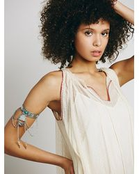 Free People - Metallic Stretch Upper Arm Band - Lyst