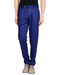 GBS - Purple Casual Pants for Men - Lyst