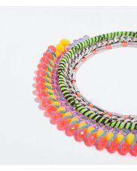Zara | Multicolor Combined Necklace | Lyst