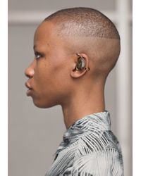 & Other Stories | Black Iridescent Stone Earcuff | Lyst