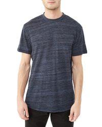 Alternative Apparel | Blue Journeyman Eco-space Dye Jersey T-shirt | Lyst