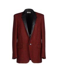 Saint Laurent | Red Blazer for Men | Lyst