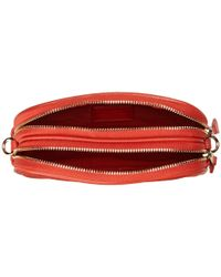 COACH | Red Polished Pebble Crossbody Pouch | Lyst