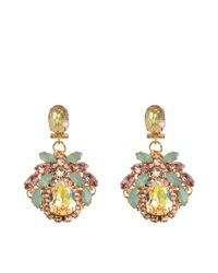 Anton Heunis | Multicolor Secret Garden Earrings | Lyst