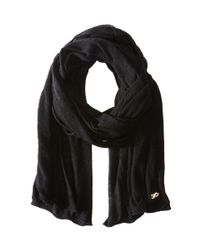 Cole Haan | Black Feather Weight Jersey Oversized Scarf | Lyst