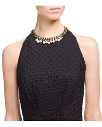 Tory Burch - Gray Marlow Pearl Link Necklace - Lyst