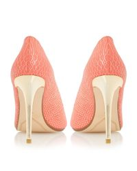 Dune | Pink Betsee Pointed Toe Court Shoes | Lyst