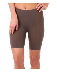 Spanx - Brown Trust Your Thinstincts Mid-thigh Short - Lyst