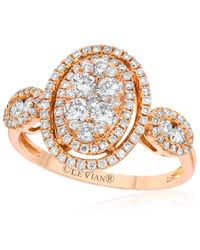 Le Vian | Pink Diamond Oval Ring (9/10 Ct. T.w.) In 14k Rose Gold | Lyst