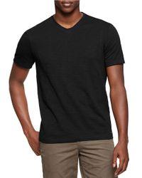 Calvin Klein Jeans | Black Cotton V-neck Tee for Men | Lyst