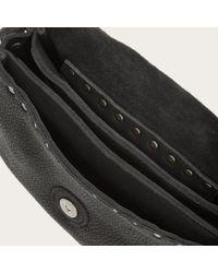 Frye | Black Nikki Nailhead Saddle Bag | Lyst