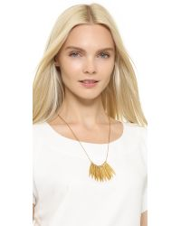 Madewell - Metallic Sara Necklace - Vintage Gold - Lyst