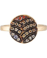 Ileana Makri - Metallic Deco Life Ring - Lyst