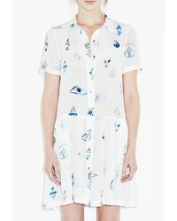 M.i.h Jeans - White Odessa Dress - Lyst