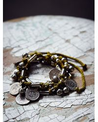 Free People | Green Born Free Wrap Bracelet | Lyst