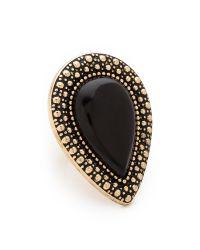 Samantha Wills | Metallic Bohemian Bardot Ring Black | Lyst