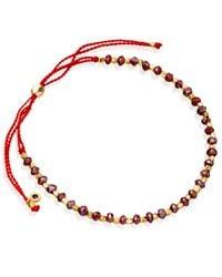 Astley Clarke | Red Protection Skinny Biography Bracelet | Lyst