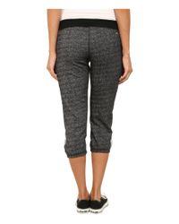 Hurley | Black Dri-fit™ Fleece Crop Pants | Lyst