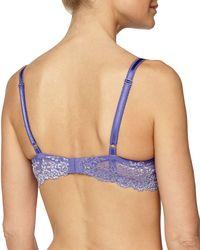 Wacoal - Purple Embrace Lace-trimmed Contour Bra - Lyst