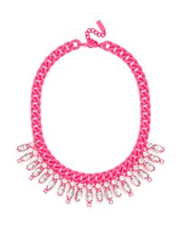 BaubleBar - Pink Dipped Ray Collar - Lyst
