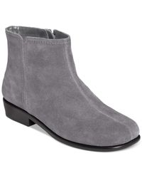 Aerosoles | Gray Duble Trouble Booties | Lyst