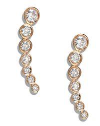 Lana Jewelry | White Femme Fatale Diamond Earrings | Lyst