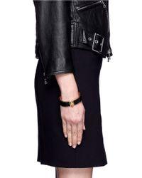 Alexander McQueen | Black Skull Button Cuff | Lyst