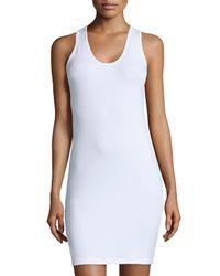 Anatomie | White Alina Jersey Tank Dress | Lyst