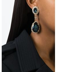 Givenchy - Blue Tear Drop Earrings - Lyst