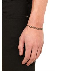 Tomas Maier - Metallic Chain-Link Brass Bangle for Men - Lyst
