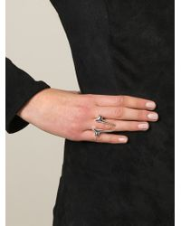 Shaun Leane - Metallic Branch Ring - Lyst