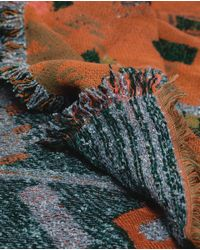 Zara | Multicolor Geometric Print Scarf | Lyst