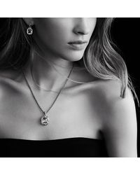 David Yurman | Metallic Labyrinth Small Pendant With Diamonds | Lyst